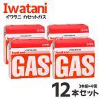 まとめ買い イワタニ ガス カセットガス オレンジ 3本組  ×4個セット 12本  CB-250-OR 料理 調理 アウトドア キャンプ バーベキュー ガスコンロ ガ