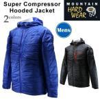 マウンテンハードウェア OM6272 スーパーコンプレッサーフーデッドジャケット アウトドア登山メンズジャケット 濡れても保温性を保つ湿雪や雨のシーン