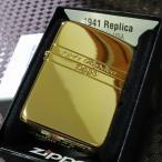 【限定ZIPPO】1941レプリカ サイドシェル ゴールド 限定ナンバー入り プレゼント 人気 高級 Zippo 限定ジッポ 金タンク