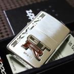 【NISSAN ZIPPO】日産 GTR シルバー 銀いぶし加工 オイルライター 人気 デザインが かっこいい おすすめ スカイラインジッポ クラシック GTRジッポ