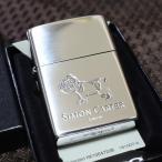 SIMON CARTER ブルドック 銀いぶし仕上げ ジッポライター サイモンカーター オイルライター おしゃれ プレゼント 人気 ブランド ZIPPO zippo 鏡面シルバー