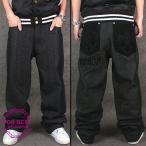 ワイドパンツ メンズ デニム バギーパンツ ジーパン ワイド 夏 大きいサイズ ヒップホップ B系 ファッション