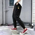 リブパンツ メンズ ロングパンツ テーパードパンツ パンツ カジュアル イージーパンツ アウトドア 春物