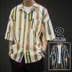 カジュアルシャツ メンズ 七分袖シ�