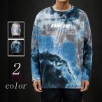 長袖Tシャツ メンズ ロンT 切り替え ロングTシャツ tシャツ カジュアル ストレッチ 大きいサイズ 秋冬