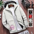 マウンテンパーカー メンズ  撥水 ブルゾン ウインドブレーカー ジャケット フード付き 防風 秋冬 大きいサイズ