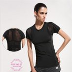 レディース Tシャツ 半袖 冷感 ヨガウェア フィットネス スポーツウェア トレーニングウェア ランニング 軽量 通気