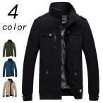 男性 ファッション ジャケット はおり ブルゾン メンズ ライトアウター ミリタリージャケット 防風 新春 秋冬