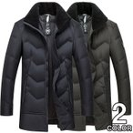 ショッピングダウンジャケット ダウンジャケット ダウンコート メンズ 高級 暖かいジャケット ロング コート ビジネス 40代 秋冬 アウター
