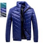 中綿ジャケット メンズ コート キルティングコート 中綿ダウンコート ブルゾン 立ち襟 冬服 暖 アウター 防寒防風 あたたか