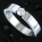 指輪 リング レディース メンズ ペアリング アレルギーフリー ステンレス SS316L フロートセッティング 送料無料