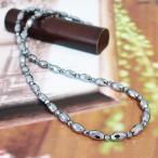 ネックレス メンズ レディース【高純度99.99%】 テラヘルツ 鉱石 デザイン ロング ネックレス 天然石 パワーストーン