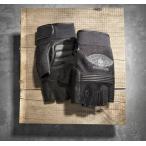ハーレー純正【98277-14vm】 Winged Skull Fingerless Gloves ◆ハーレー◆