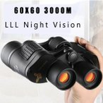 双眼鏡望遠鏡 ナイトビジョン 60X60 3000 メートル HD プロ 狩猟 ハイキング 旅行 フィールドワーク フィールドワーク 林業防火