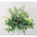 ユーカリとポトス寄せ植えポット (屋外対応 造花 インテリア 観葉植物 55cm)