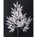 バンブースプレー シルバー(人工竹 造花 装飾 七夕用 3本セット)