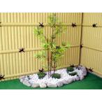 黒竹 3本立て(造花 人工観葉植物 バンブー 和風 インテリア 造園 庭園 坪庭 インテリア 100cm)
