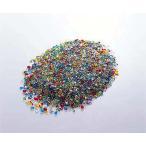 クリスタルグラスサンド 1000g(1kg ミックス フラワー資材 ガラス砂利 インテリア)