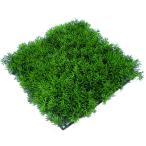 グリーングラスガーデンマット プラスチック  ツートングリーン