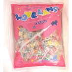 1キロ入り LOVE LAND ラブランド お徳用キャンデー 扇雀飴本舗