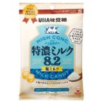特濃ミルク8.2 塩ミルク 袋キャンデー 80g×30袋 UHA味覚糖 湖の塩 レイククリスタルソルト使用