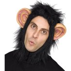 チンパンジー マスク 大人用 フードタイプ