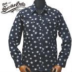 THE STRIKE GOLDストライクゴールド ORIGINAL STAR PATTERN WESTERN SHIRTSオリジナル星柄ウェスタンシャツ「SGS015」/アメカジ/メンズ/ワークウェア