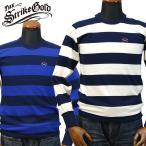 ストライクゴールドTHE STRIKEGOLD オリジナルボーダーロングTシャツ「SGT032」/アメカジ/バイカー/