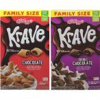 Kellogg's ケロッグ Kreve シリアル ファミリーサイズ 2種類