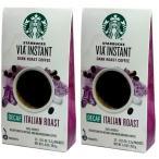 デカフェ イタリアンロースト スターバックス VIA インスタント コーヒー 24杯分