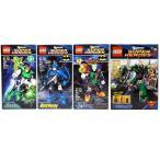 LEGO DC ユニバース スーパーヒーローズ 4セット バットマン/スーパーマン/グリーンランターン/ジョーカー