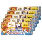 ブレックファストパック 5箱 (1食分シリアル40個入り) ゼネラルミルズ社