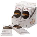 Justine オーガニック ピーナッツ バターカップ  チョコレート 12パック