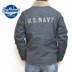 バズリクソンズ BUZZ RICKSON'S N-1 デッキジャケット Navy DEPARTMENT BR12030 ネイビー色