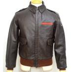 トイズマッコイ TOYS McCOY TYPE A-2 ジャケット V.HILTSモデル DECAL 馬革 TMJ1544 シールブラウン色