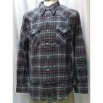 Wrangler ラングラー W9231-101)グレー ウェスタン ネルシャツ