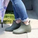 レイン ブーツ  レディース 完全防水 抗菌加工 ショート レイン ブーツ 雨 ガーデニング 長靴 日本製