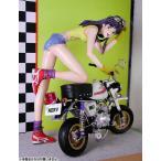 新世紀エヴァンゲリオン バイク ミサト 1/6 未塗装組立フィギュア(再販)[アミエ・グラン]《取り寄せ※暫定》