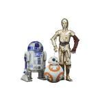 ARTFX+ スター・ウォーズ/フォースの覚醒 R2-D2 & C-3PO with BB-8 1/10 簡易組立キット[コトブキヤ]【送料無料】《発売済・在庫品》