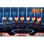 コスベイビー 『アイアンマン3』[サイズS] アイアンマン・マーク1〜7 (7体セット)[ホットトイズ]《発売済・在庫品》