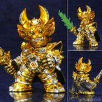 牙狼デフォルメ魔戒コレクション 黄金騎士ガロ メッキver.[アートストーム]《発売済・在庫品》