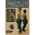 """マシーネンクリーガー Ma.K.019 Strahl Demokratische Republik Kangaroo Girl""""JULIA"""" 1/20 組立キット[LOVE LOVE GARDEN]《02月予約※暫定》"""