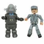 ミニメイツ/ 禁断の惑星: ロビー・ザ・ロボット&C-57Dクルーマン 2PK[アートアサイラム]《07月仮予約》