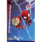 コスベイビー スパイダーマン サイズS スパイダーマン(ウェブ・スウィング版)&アイアンマン・マーク47(飛行版)[ホットトイズ]《発売済・在庫品》