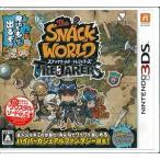 【特典】3DS スナックワールド トレジャラーズ[レベルファイブ]【送料無料】《08月予約》