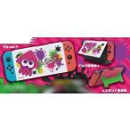 Nintendo Switch専用スタンド付きカバー スプラトゥーン2イカ[マックスゲームズ]《09月予約》