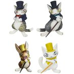 【特典】猫のダヤン フィギュアコレクション 3 4個入りBOX[441LABO]《取り寄せ※暫定》
