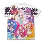 キラキラ☆プリキュアアラモード キラキラ☆プリキュアアラモード フルグラフィックTシャツ/WHITE-XL(再販)[コスパ]《06月予約》