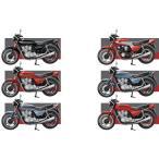 1/24 ヴィンテージ バイクキット Vol.4 ホンダ CB750F 10個入りBOX (食玩)[エフトイズ]《10月予約》