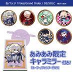 【あみあみ限定特典】缶バッジ「Fate/Grand Order」02/SOLC 6個入りBOX[A3]《10月予約》